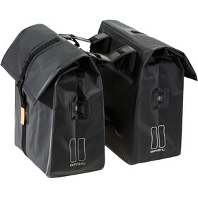 Basil Urban Dry Double Pannier Bag 50l, matt black